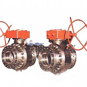 Alloy Steel 3-PC Floating Ball Valve, 900LB, CF8