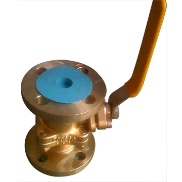 Aluminum Bronze Ball Valve, API 608, Wafer, Lug