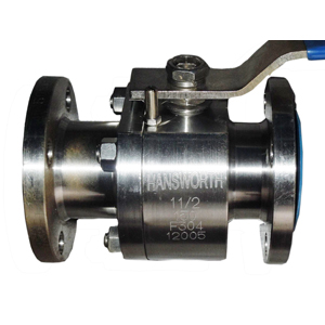 API 608 Full Bore Ball Valve, PTFE Seated, DN40