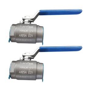 BS 5351 Ball Valve, ASTM A105N, Screwed End
