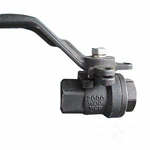 Butt-Welded Full Bore Ball Valve, 2-PC, 2000 WOG