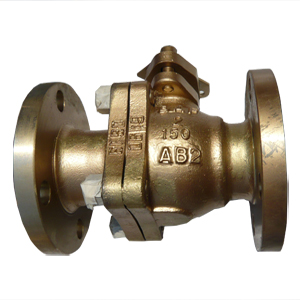 Floating Bronze Ball Valve, DN50, PN20, RF