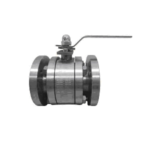 Floating Ceramic Ball Valve, DN65, PN20, RF