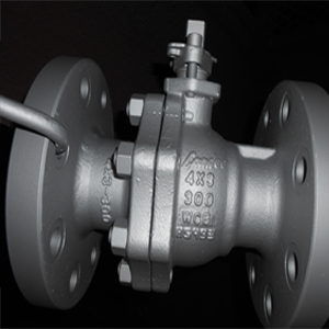 Reduced Bore Ball Valve, RF, 300 LB, 4X3IN