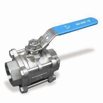 Stainless Steel 1-PC Ball Valve, 1000WOG, SW