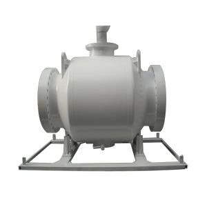 Nylon Seat Full Welded Ball Valve, 600#, 30 Inch