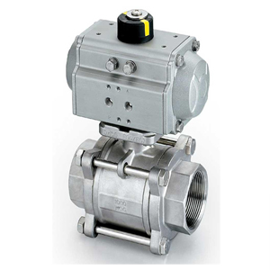 Single Actuator Ball Valve, 1/2 Inch, 1000 WOG