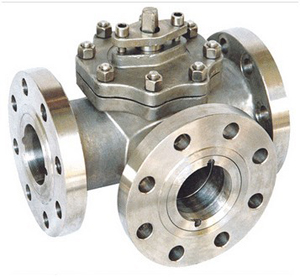 Three Ways Ball Valve, Casting, CL900, WCB