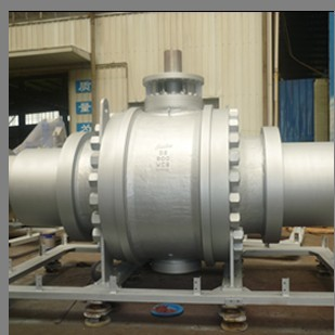 A216 WCB Full Bore Ball Valve, 36 Inch, Gas Op
