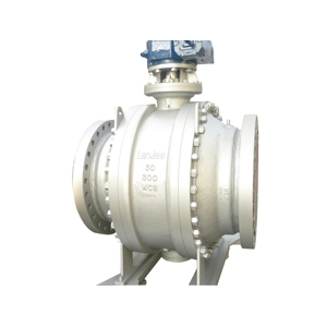 A350 Carbon Steel Trunnion Ball Valve, 26 Inch
