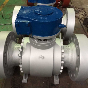 A350 LF2 Trunnion Ball Valve, 8IN, 1500#, RF