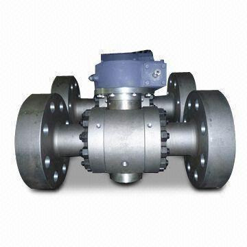 ASTM A105 LF2 Trunnion Ball Valve, 900LB, API 6D