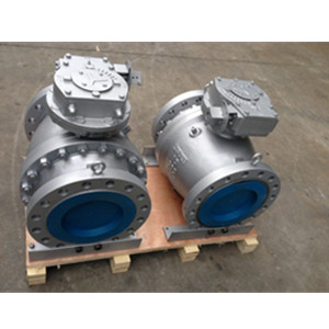 ASTM A216 WCB Ball Valve, 2-PC, PN50, DN250