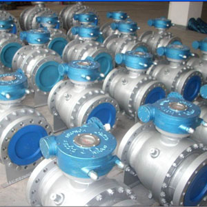 Flanged Full Bore Ball Valve, DN200, API 6D, 300#