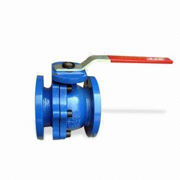 Lever Operated Ductile Iron Ball Valve, 64 Inch