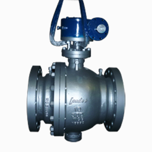 PTFE Seated Ball Valve, 2-PC Full Bore, 10 Inch