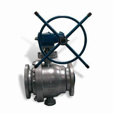 Stainless Steel Trunnion Ball Valve, 30 Inch, BW