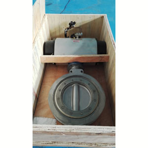 ASTM A351 Butterfly Valve, Wafer, Pneumatic