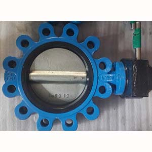 Ductile Cast Iron Butterfly Valve, 4IN PN25