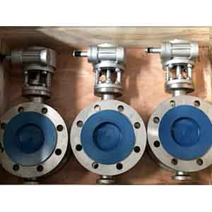 SS 304 Butterfly Valve, DN100, 125mm Length