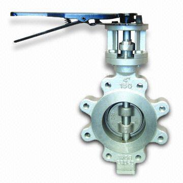 Stainless Steel Butterfly Valve, 60 Inch, BS 5155