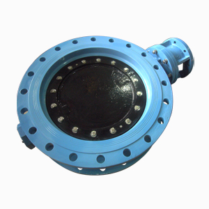 Ductile Iron Double Eccentric Butterfly Valve