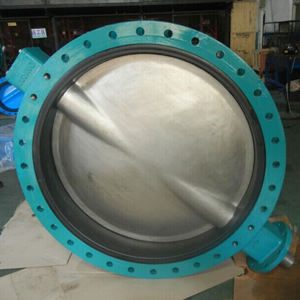 U-section Eccentric Butterfly Valve, PN10, DI