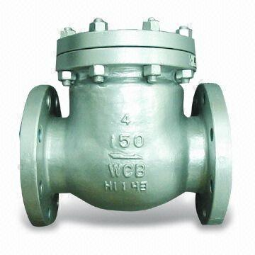 Alloy Steel Flanged Check Valve, 1/2-32 Inch