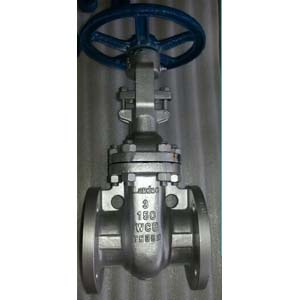 Flanged RF Cast Steel Gate Valve, DN80, 150#