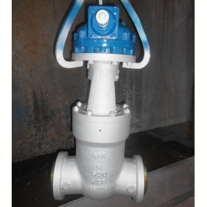 Gear Operated Gate Valve, ASTM A216 WCB