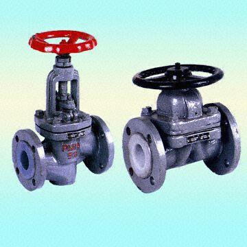 CS PTFE Lined Diaphragm Valve, Flanged Ends