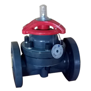 UPVC Diaphragm Valve, 2 Inch, CL150, FF, CS