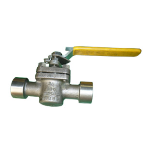 ASTM A494 Regular Port Plug Valve, 3/4 Inch, 150#