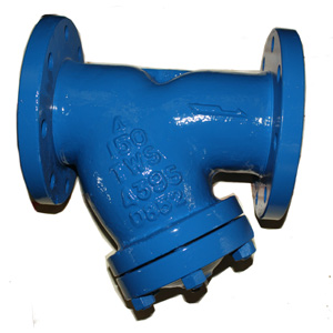 ASTM A395 Y Type Strainer, DN100, Monel Trim