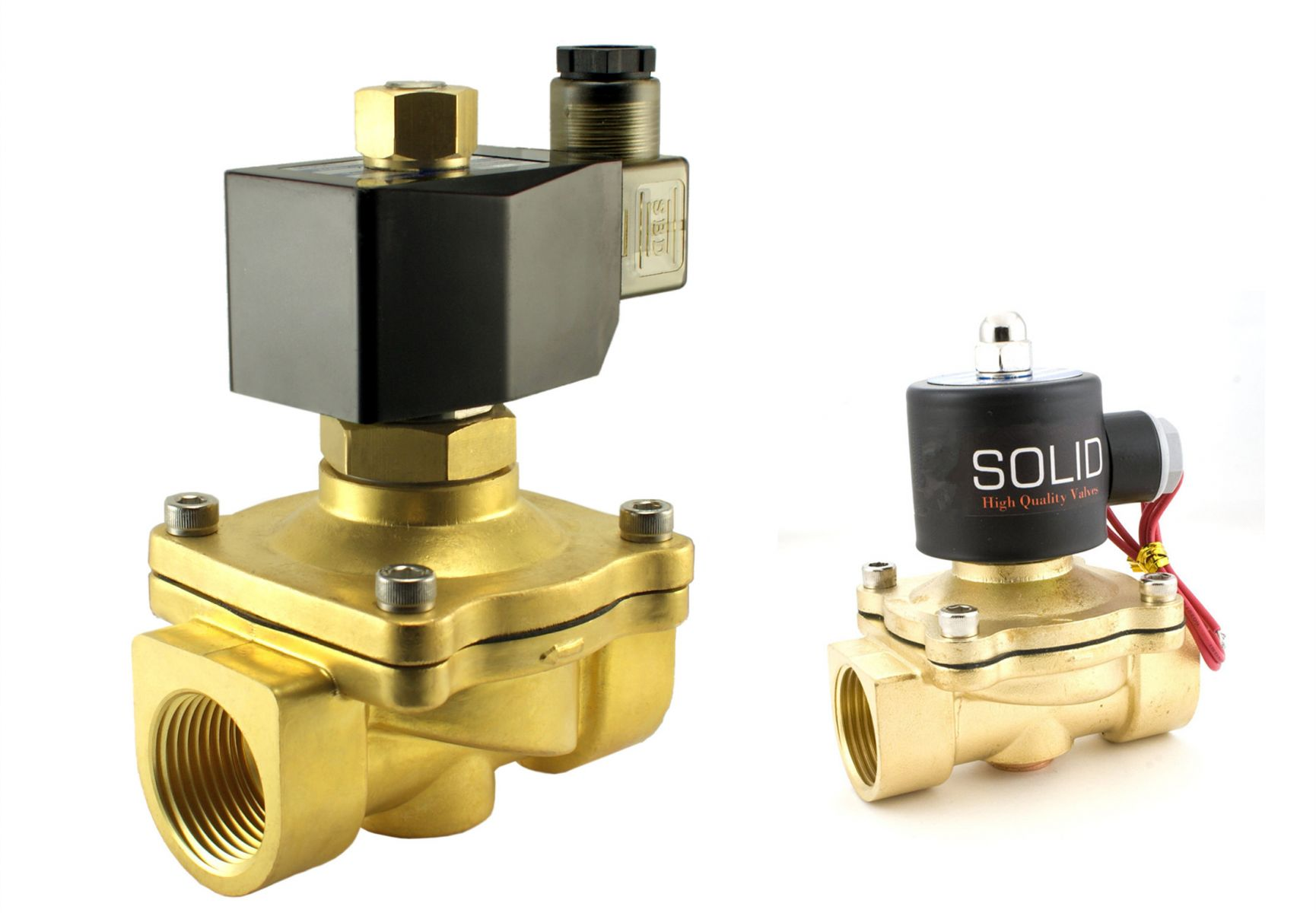 Difference between Solenoid Valves and Electric Valves
