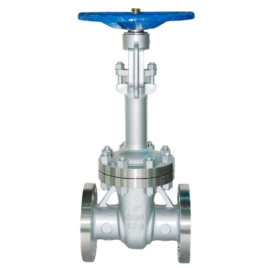 Installation for Low Temperature Gate Valve